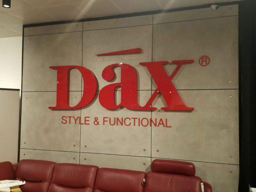 שלט לחנות רהיטים DAX